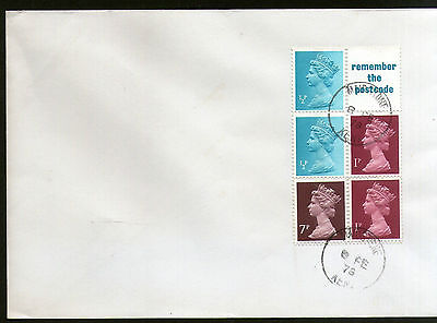 Great Britain 1978 Great Britain Queen Elizabeth II Booklete 5v Plain FDC # 8154