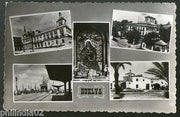 Spain 1975 Huelya Yard Church Architecture to Finland View Picture Post Card #19