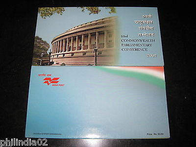 India 2007 Commonwealth Parliamentary Conference Phila-2293 Presentation Pack