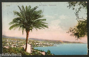 Italy 1910 San Remo Panorama to London UK View / Picture Post Card # 185