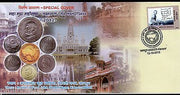India 2009 Mahatma Gandhi Maha Mudra Mahotsava Currency Coin Special Cover #7442