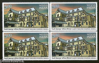 India 2014 Gaiety Theatre Complex, Shimla Architecture Art Blk/4 MNH