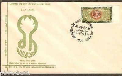 India 1969 Conservation of Nature Phila-501 FDC+Folder