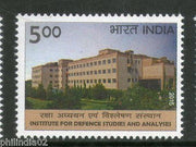 India 2015 Institute for Defence Studies and Analyses 1v MNH