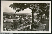 Czechoslovakia 1932 Jemnice City Panorama View Picture Post Card # 145