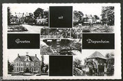 Netherlands 1970 Greetings from Diepenheim Building View Picture Post Card # 141