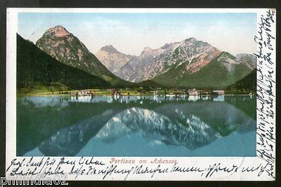 Austria 1902 Pertisau at Achensee Lake View Picture Post Card to Germany # 225