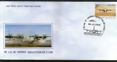 India 2016 Induction of C-130 Hercules Aircraft Indian Air Force FDC# F3096