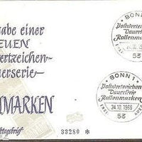 Germany 1966 Brandenburg Gate Architecture Sc 955 Cover
