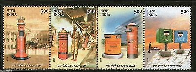 India 2005 Letter Boxes 150 Years of India Post Phila-2143 Se-tenant MNH