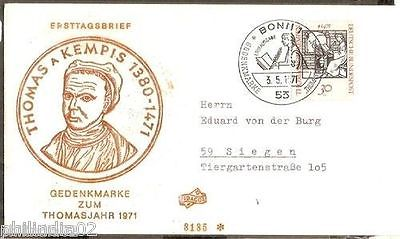 Germany 1971 Thomas a Kempis Author Writer Book Cover