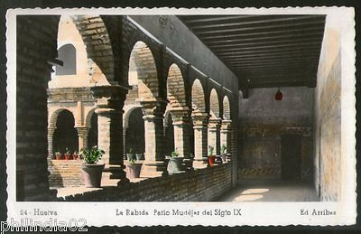Spain 1952 La Rabida Monument Architecture View Picture Post Card to Finland #19