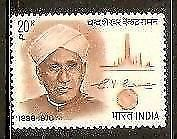 India 1971 Dr. C.V. Raman Nobel Prize Winner Phila-544 1v MNH