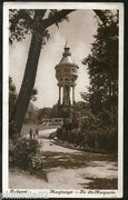 Hungary 1913 Budapest Margaret Island Water Tower View Picture Post Card #247