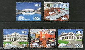 Fiji 2014 Grand Pacific Hotel Tourism 'Be Treated Like Royality' 5v MNH # 4052