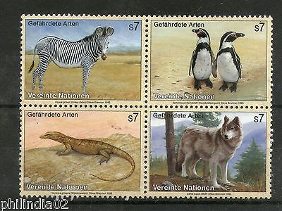 United Nations - Vienna 1993 Endangered Species Wildlife Bird WWF Sc 146a MNH # 12605