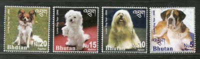 Bhutan 2006 Year of the Dog Domestic Animals Sc 1416-19 4v MNH # 2243