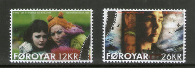 Faroe Islands 2020 Motion Pictures 125 Years Cinema Film 2v MNH # 2408