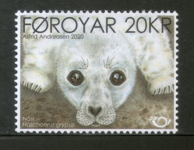 Faroe Islands 2020 The Seal Pup Dog Animal MNH # 2452