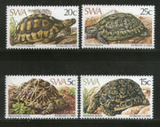South West Africa 1982 Leopard Tortoise Reptiles Amphibians Sc 487-9 MNH # 267 - Phil India Stamps