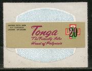 Tonga 1974 20s UPU Centenery Odd Shaped Die Cut Sc 340 Stamp MNH # 268 - Phil India Stamps