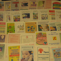 India 526 diff Meghdoot Post Cards Gandhi Aids Malaria Cancer Health All Mint - Phil India Stamps