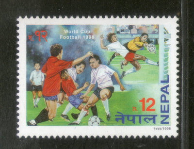 Nepal 1998 World Cup Football Soccer Championship Sports Sc 634 MNH # 282