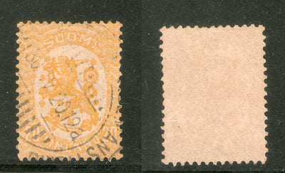 Finland 1917-30 20p Coat Arms of Republic Sc 88 Used Stamp  # 320