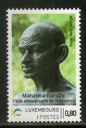 Luxembourg 2019 Mahatma Gandhi of India 150th Birth Anniversary Customized 1v MNH # 333A