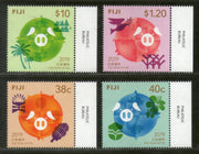 Fiji 2019 Chinese New Year of Pig Festival Zodiac Signs Animal 4v MNH # 3526