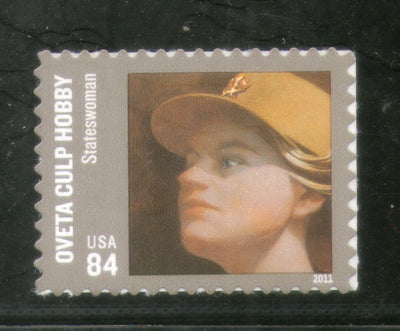 USA - United States of America 2011 Ovetta Culp Hobby Sc 4510 Self-Adhesive MNH # 368