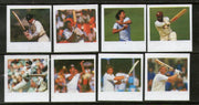 St. Vincent 1988 Cricketers Gavaskar Kapil Dev India Imperforated Proof Set MNH # 3862