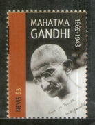 Nevis 2011 Mahatma Gandhi of India Sc 1651 1v MNH # 413