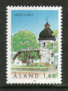 Aland 1991 Vardo Church Architecture Sc 40 MNH # 428