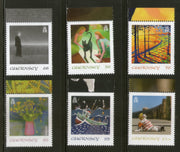 Guernsey 2020 SEPAC Art Work Collection Painting 6v MNH # 542