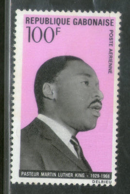 Gabon 1969 Martin Luther King Nobel Prize Winner Apostle Non-Violence Sc C81 MNH # 547
