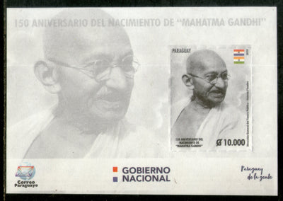Paraguay 2019 Mahatma Gandhi of India 150th Birth Anniversary Flag MNH # 5551