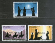St. Vincent Grenadines 1984 Christmas Celebration SPECIMEN Sc 469-71 MNH # 569