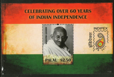 Palau 2011 Mahatma Gandhi India Independence Flag Sc 1034 M/s MNH # 5948