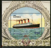 Gambia 2004 Steam Ship Transport Sc 2902 M/s MNH # 5959