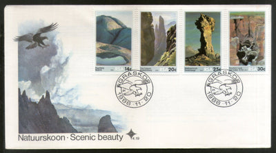 South Africa 1986 Tourism Scenic Beauty Mountain Nature Bird FDC # 6016