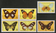 St. Thomas & Prince Islands 1979 Butterfly Moth Insect Sc 501-6 MNH # 717