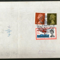 Middle East Force 1943 Christmas Greeting Illustrated Airgraph Deliver to England # 7569