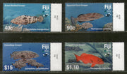 Fiji 2019 4FJ Fishes Marine Life Animals Fauna 4v MNH # 75