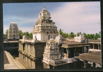 India 2017 Draksharamam Bhimeswara Temple Hindu Mythology Architc Max Card #7933