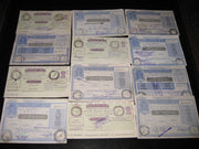 India 12 Different Postal Order up to Rs. 7 Good Condition Used RARE # 8038