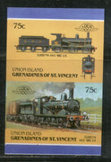 St. Vincent Gr. Union 1987 Class Y14 1883 UK Locomotive Sc 42 Imperf MNH # 809