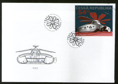 Czech Rep. 2020 Space Shuttle Architecture SPECIMEN M/s FDC # 8117