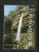 Slovenia 2006 Waterfall Mountain Nature Sc 658 Specimen MNH # 822