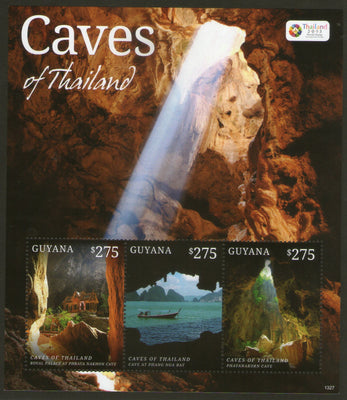 Guyana 2013 Caves of Thailand Tourism Mountain Sc 4247 MNH # 9043